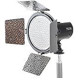 Yongnuo Kamera /- Video LED Videoleuchte YN -216 216x LED. Einstellbare Lichtfarbe 3.200K- 5.500K. Professionelle Videoleuchte mit 2000 Lumen! Inklusive Akku und Ladegerät!