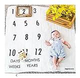 Covermason Neugeborenes Baby Babyhood Foto Fotografische Fotografie Decke für 0-12 Monate Baby, 100 * 110cm (C)