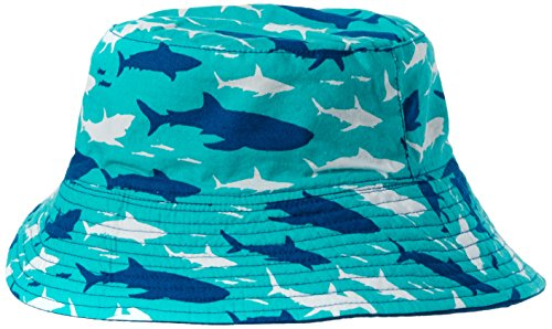 Hatley Unisex Sun Hut Blue (Toothy Shark)