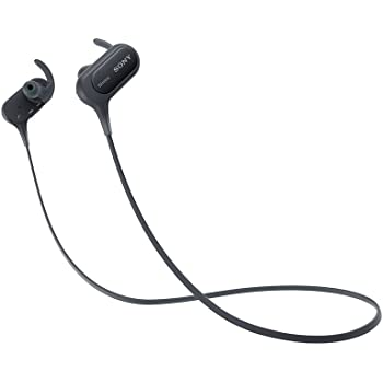 Sony Extra Bass MDR-XB50BS in-Ear Active Sports Wireless Headphones (Black)