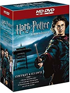 coffret harry potter 1 2 3 et 4 hd dvd. Black Bedroom Furniture Sets. Home Design Ideas
