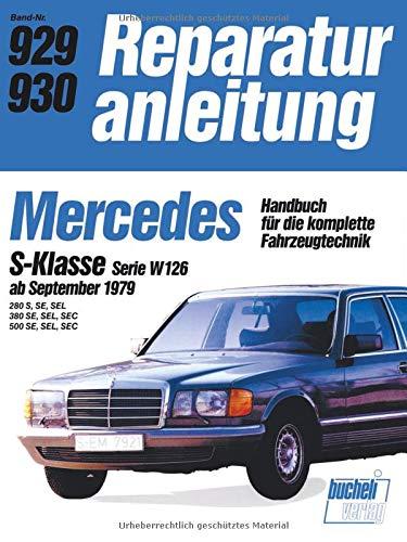 Mercedes S-Klasse  Serie W   ab 9/79 (Reparaturanleitungen) gebraucht kaufen  Wird an jeden Ort in Deutschland