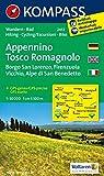 Carta escursionistica n. 2453. Appennino Tosco Romagnolo. Adatto a GPS. Digital map. DVD-ROM