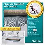 Rutsch-Stop Gitternetz 70x190cm - Antirutschmatte Teppichstopper Teppichunterleger Teppichunterlage Antirutschmatte