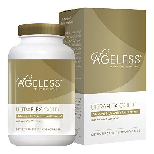 Ageless Foundation - UltraFLEX Gold Formule Articulations 90 Comprimés