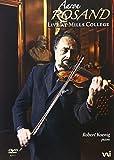 Aaron Rosand - Live at Mills College - Aaron Rosand, Robert Koenig