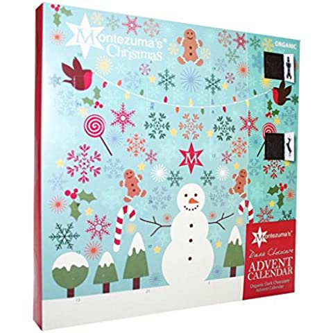 Montezuma's - Dark Chocolate Advent Calendar - 240g (Case of 5)