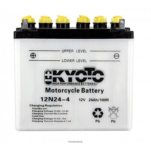 Kyoto - Batteria moto 12N24-4 / 12N24-4A / 12V 24Ah