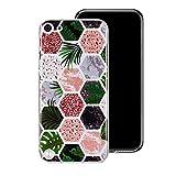 Misstars Coque en Silicone pour iPod Touch 5/6 Marbre, Ultra Mince TPU Souple...