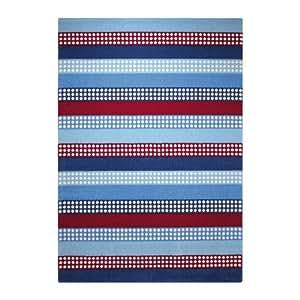 Teppich ESPRIT Space Stripes ESP-8054-01 blau 120 x 170 cm / ESPRIT Teppiche