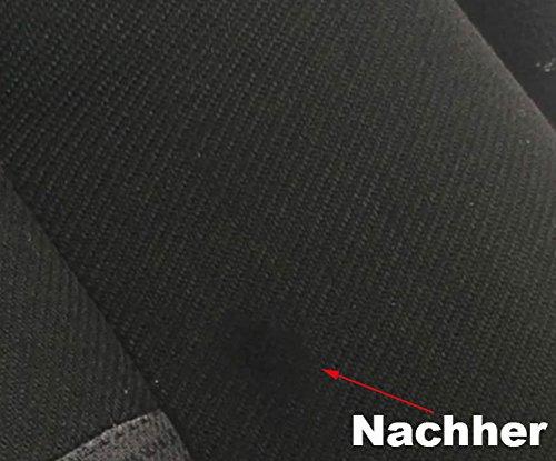 ATG - Ensemble de réparation de trou de brûlure de siège de voiture - pour tous les tissus d'ameublement - 13 pièces (emballage assorti)