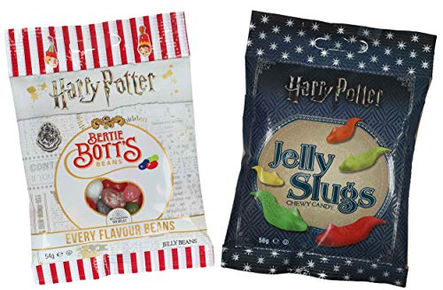 Jelly Belly Bertie Botts Bohnen (54 g) und Jelly Slugs (56 g)