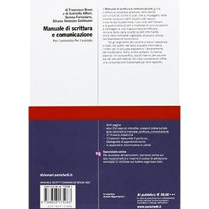Manuale di scrittura e comunicazione. Per l'Univer