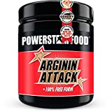Arginin Attack *leckerer Cranberry Geschmack* 100%ig reines L-Arginin Pulver - Für mehr Pump & andauernde Power - PREMIUM Pre-Workout Produkt - 450g - Made in Germany