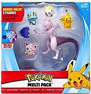 Pokemon Mewtwo, Jigglypuff, Froakie, Togepi & Pikachu Multi Figure 5-