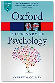A Dictionary of Psychology 4/e (Oxford Quick Reference)