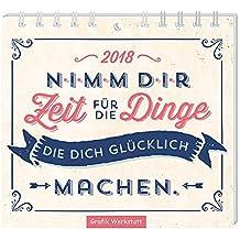 Nimm dir Zeit 2018: Mini-Kalender