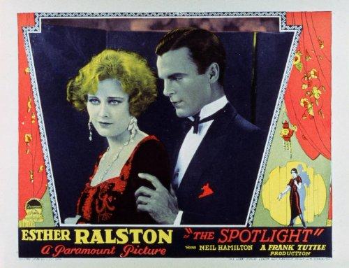 The Spotlight Plakat Movie Poster (11 x 14 Inches - 28cm x 36cm) (1927)