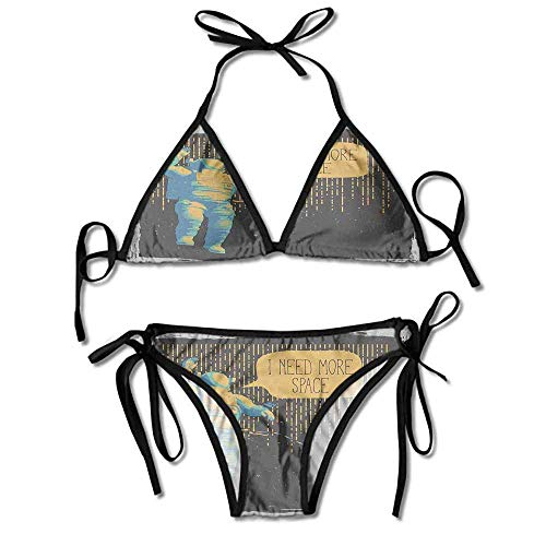 Removable Strap Wrap Bikini,More Space Speech Bubble Sexy Bikini 2 Pieces -