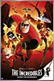 Close Up The Incredibles Poster Expect The Incredible (93x62 cm) gerahmt in: Rahmen silber