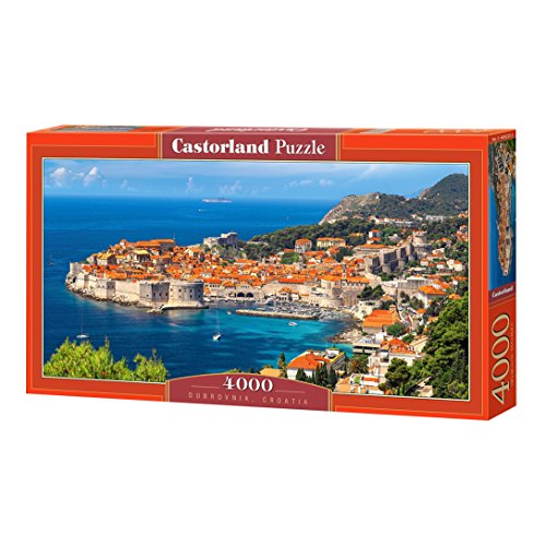 Castorland C-400225-2 Dubrovnik, Croatia, Puzzle 4000 Teile