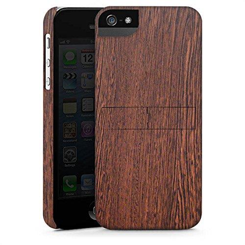 Apple iPhone 4 Housse Étui Silicone Coque Protection Noisetier Look bois Sol en bois CasStandup blanc