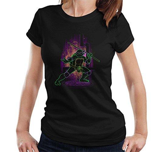 (Cloud City 7 Teenage Mutant Ninja Turtles Shadow of Donatello Women's T-Shirt)