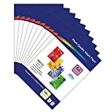 500 Sheets of 120gsm A4 Single-Sided Glossy Photo Paper for Inkjet Printers