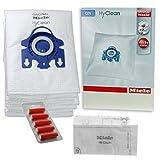 Miele GN Hoover Sacs aspirateur–TT5000S5210S5211S5261Chat & Chien authentique Original HyClean + filtres (1Boîte, 5désodorisants)