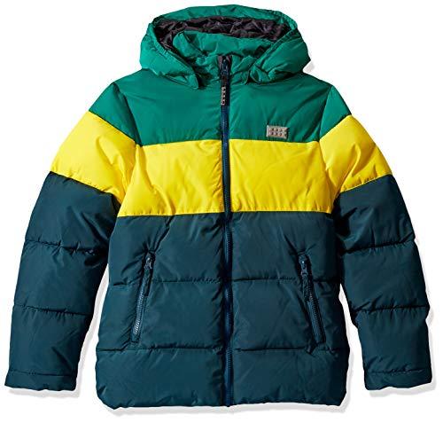 Lego Wear Jungen Lego Boy LWJORDAN 708-Winterjacke Jacke, Mehrfarbig (Dark Green 875), (Herstellergröße:152)