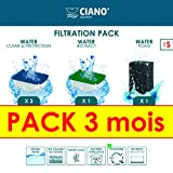 Ciano Acuario Consumables Pack 3Meses para acuariofilia Talla S