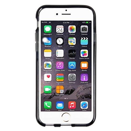 JING Pour iPhone 6 / 6s, Rice Grains Pattern TPU Housse de protection ( Color : White ) Black