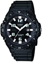 Casio Herren-Armbanduhr CASIO COLLECTION Analog Quarz, Solar (One Size, schwarz)