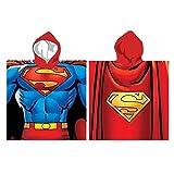 Poncho asciugamano Superman DC Comics in micropile
