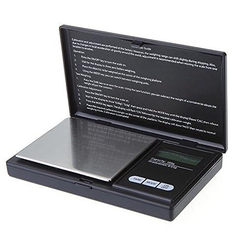 Kicode Präzision PRO 10g x 0,01 g Diamant Milligramm Schmuck Gold Scale Pocket LCD