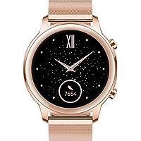 HONOR MagicWatch 2 42 mm Smart Watch, Fitness-Aktivitätstracker mit Herzfrequenz- und Stressmonitor, Übungsmodi, Lauf-App, Gold