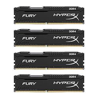 HyperX FURY DDR4 16 GB (Kit 4x4 GB), 2666 MHz CL15 DIMM XMP - HX426C15FBK4/16, Black (B00TPQPOIS) | Amazon price tracker / tracking, Amazon price history charts, Amazon price watches, Amazon price drop alerts