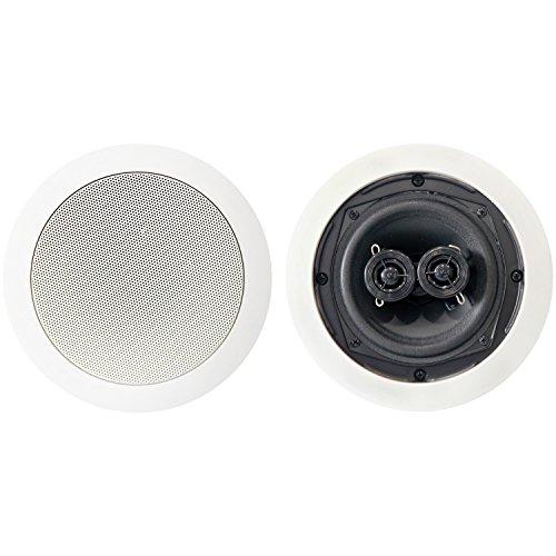 Bic America M-SR5D Dual Voice Coils In-ceiling Speakers Dual Voice Coil Speaker