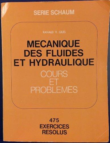 Mcanique des fluides et hydraulique