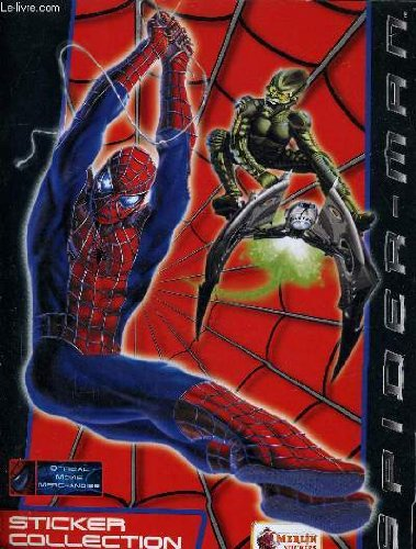 SPIDER MAN STICKER COLLECTION - INCOMPLETS.
