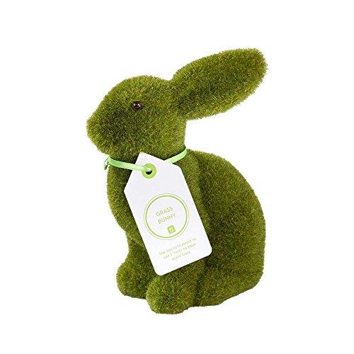 Talking Tables Mix-GRASSBUNNY Grass Bunny Flocked, 6\