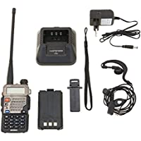 Baofeng UV-5RE Talkie walkie / Walkie-talkie Interphone ricetrasmettitore Two Way FM radio VHF / UHF Dual -Band + Cuffie