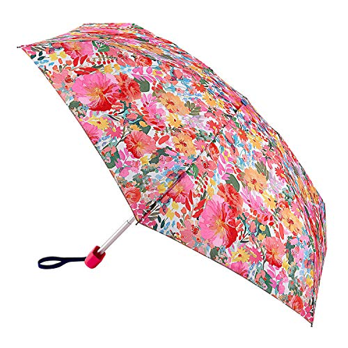 joules Tiny Womens Umbrella One Size Hollyhock Meadow