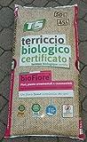 Terreau biologique certifié pour plantes ornementales et comestibles