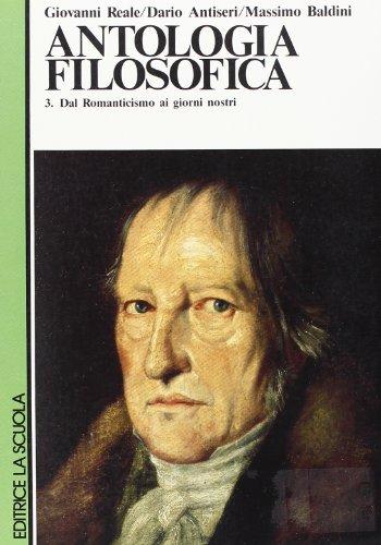 Antologia filosofica. Per le Scuole superiori: 3