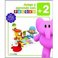 Juega y aprende con Pocoyó (+2): Con adhesivos y una guía para