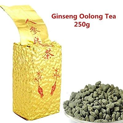 Promotion Grain de thé 250g (0.55LB) Ginseng Oolong Thé naturel frais de beauté Thé chinois de Ginseng de qualité Oolong thé, Thé vert de Wu Long thé Oolong thé vert