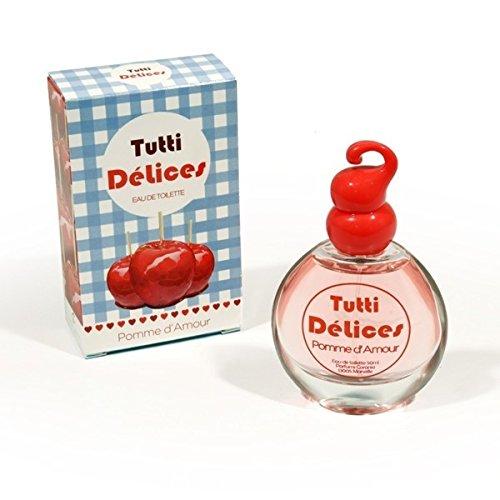Eau de Toilette Tutti Delice Parfum Pomme d'Amour 50mL - Fabriqué en France