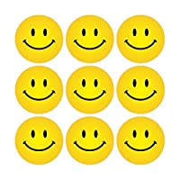 Yellow Smiley Faces Stickers