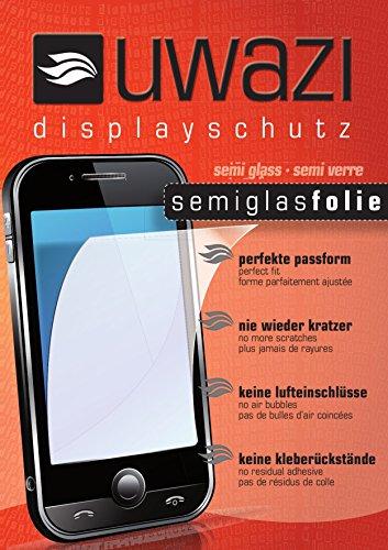 2x uwazi Wiko Tommy Panzerfolie Schutzfolie - flexible Glasfolie, extra gehärtet